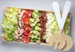 Salatbestecke aus Holz sind sehr populär